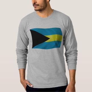 La camisa de la bandera de Bahamas