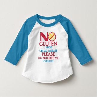La camisa de la enfermedad celiaca, no me alimenta