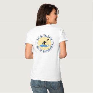 La camisa de la mujer de los exploradores del