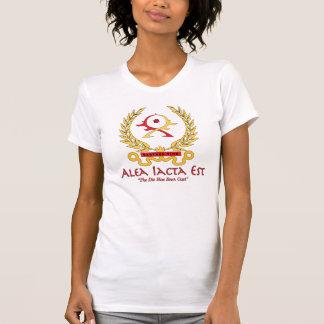 La camisa de la mujer del presupuesto de AIE