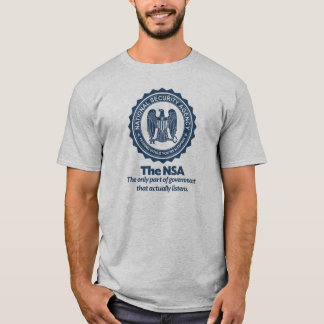 La camisa de la parodia del NSA