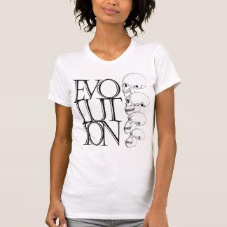 La camisa de las mujeres de la evolución
