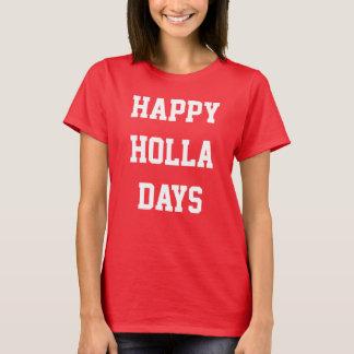 """La camisa de las mujeres del día de fiesta LOL """"de"""