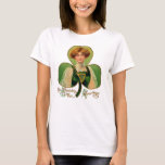 La camisa de las mujeres del día de St Patrick