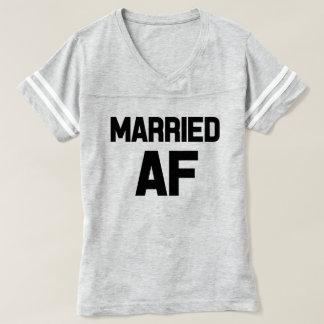 La camisa de las mujeres divertidas casadas del AF