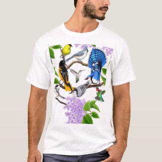 La camisa de los amantes del pájaro del patio