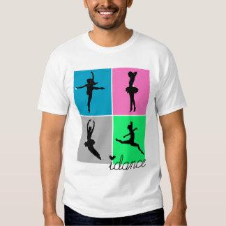 la camisa de los bailarines del idance