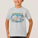 La camisa de los E.E.U.U. de los acres del niño