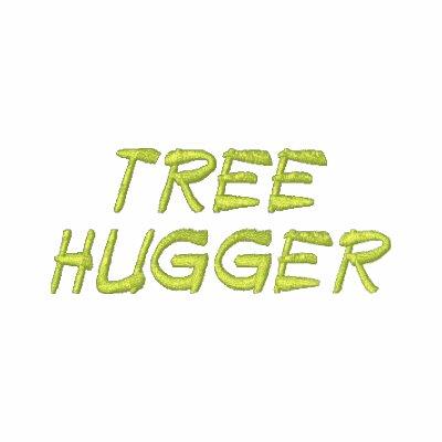 La camisa de los hombres bordados Hugger del árbol Sudadera Bordada