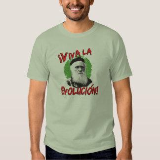La camisa de los hombres de Evolucion Darwin del