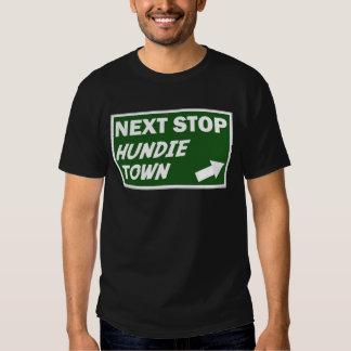 La camisa de los hombres de la ciudad de Hundie