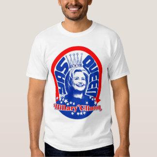 La camisa de los hombres de la reina de Hillary