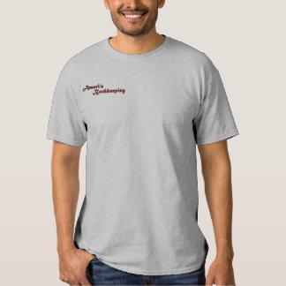 La camisa de los hombres del logotipo de Amari