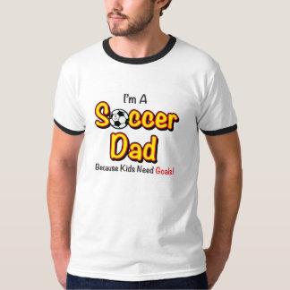 """""""La camisa de los hombres del papá del fútbol de"""