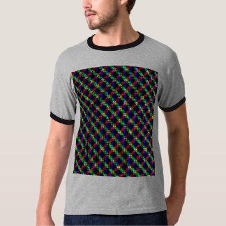 La camisa de los hombres fluorescentes de la luna