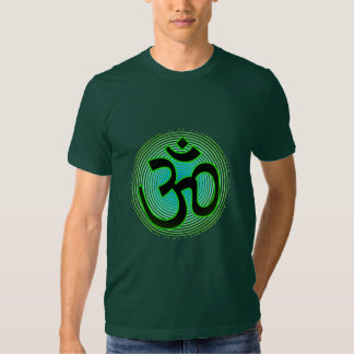 La camisa de los hombres frescos sánscritos de OM