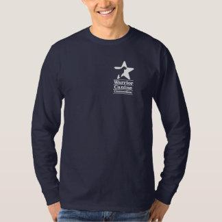 La camisa de los hombres largos de la manga de WCC