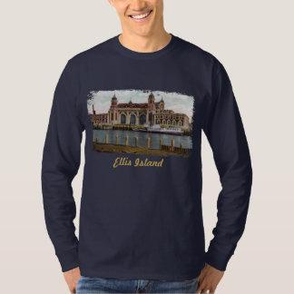 La camisa de los hombres pintados de la isla de