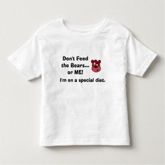 La camisa de los niños de la dieta del autismo