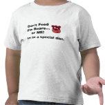 La camisa de los niños de la dieta del autismo FBC