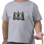 La camisa de los niños de los saludos de la estaci