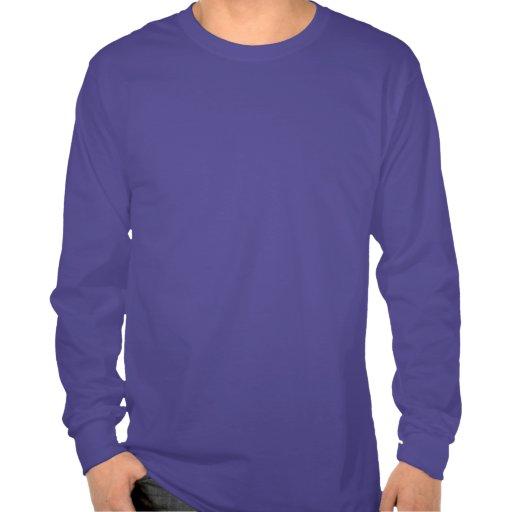 La camisa de manga larga de los hombres dulces del