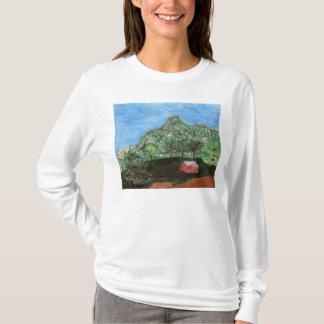 La camisa de manga larga de los pináculos de Julia