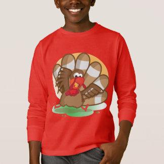 La camisa de manga larga del niño de Turquía