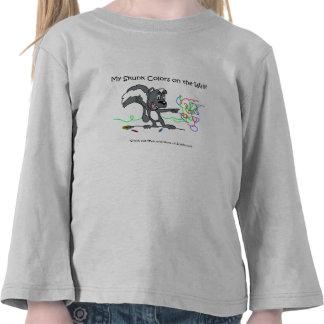 La camisa de mi de la mofeta niño del anuncio