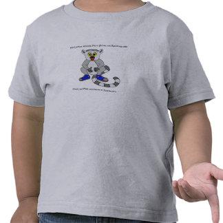 La camisa de mi del Lemur niño del anuncio