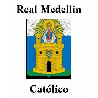 La Camisa de Real Medellin Católico shirt