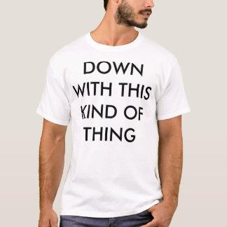 La camisa de uso múltiple de la protesta