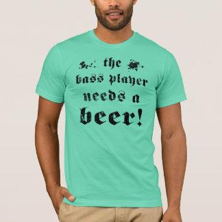 La camisa del bajista