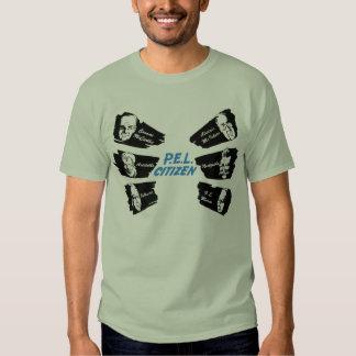 La camisa del ciudadano del PEL