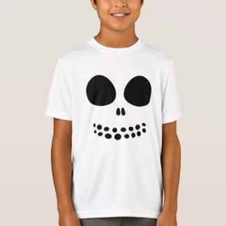 La camisa del cráneo de los muchachos negros de la