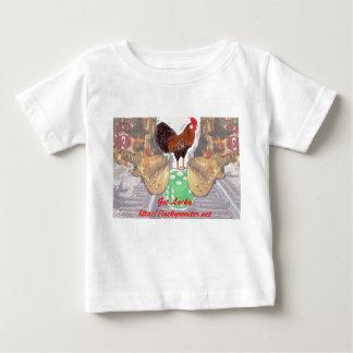 La camisa del niño afortunado del gallo