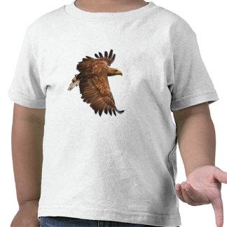 La camisa del niño de Eagle en vuelo