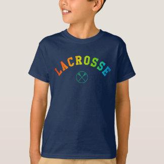 La camisa del niño de LaCrosse - texto curvado