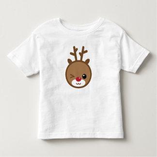 La camisa del niño del reno de Kawaii