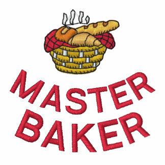 La camisa del panadero bordado con el texto de enc camiseta polo