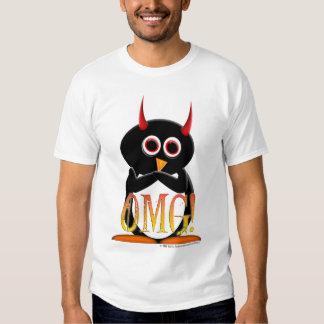 La camisa del pingüino del proyecto de la mujer ma
