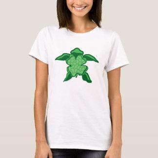 La camisa del trébol de la suerte de mar de la
