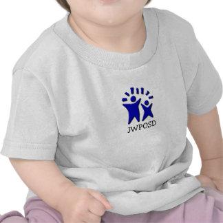La Camisa-DOs del logotipo del niño ECHÓ A UN LADO