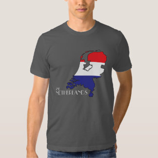 La camisa holandesa del Bandera-Mapa