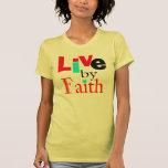 "La camisa inspirada de la fe de las bendiciones ""v"