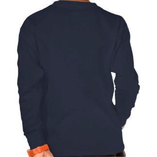 La camisa Largo-envuelta del niño de los salmones