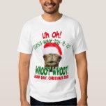 La camisa original de Santa del camello del día de