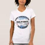 La camisa original del té de la fiesta del té