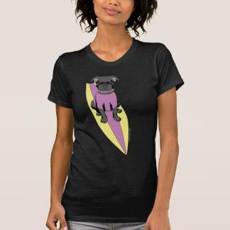 La camisa oscura de las mujeres (en colores