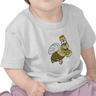 "la camiseta ""abeja "" divertidos de los bebés"
